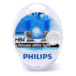 Лампа галогеновая Philips HB4 12V 51W P22d (9006) Diamond Vision